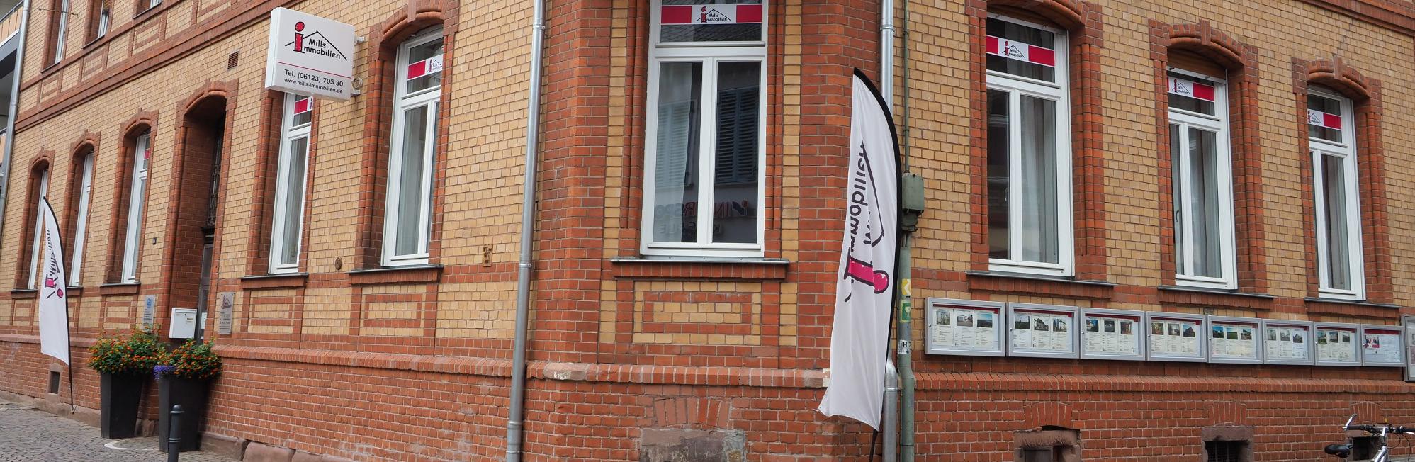 Mills Immobilien Foto Büro in Eltville (Rheingau)