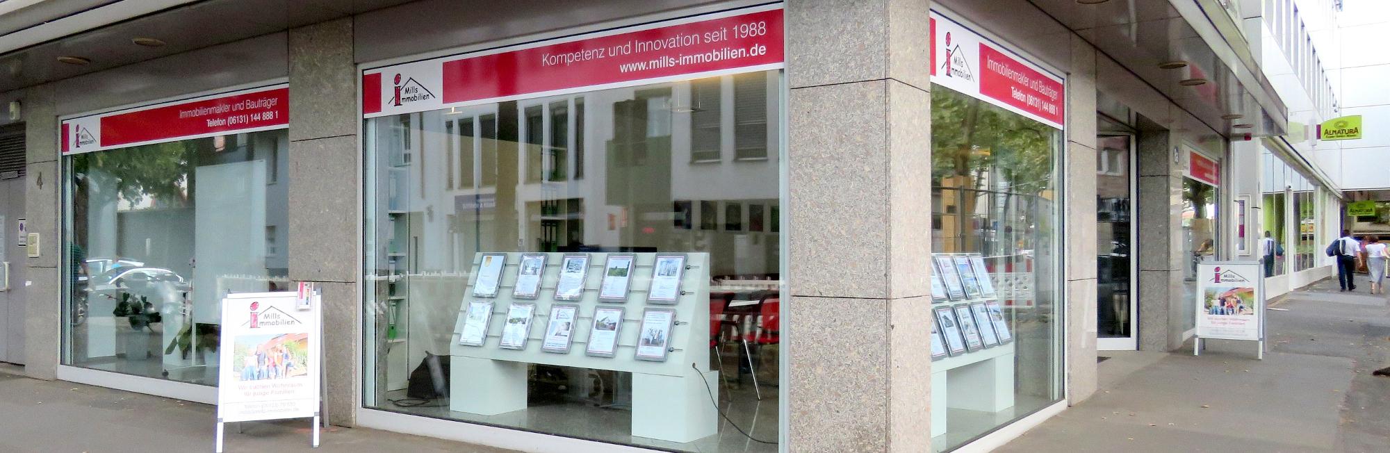 Mills Immobilien Foto Büro in Mainz