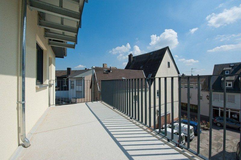 Winkeler Strasse Balkon Wohnung nach Umbau