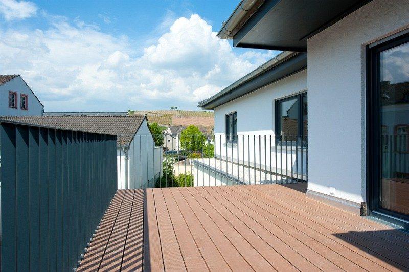 Winkeler Strasse Terrasse Wohnung nach Umbau
