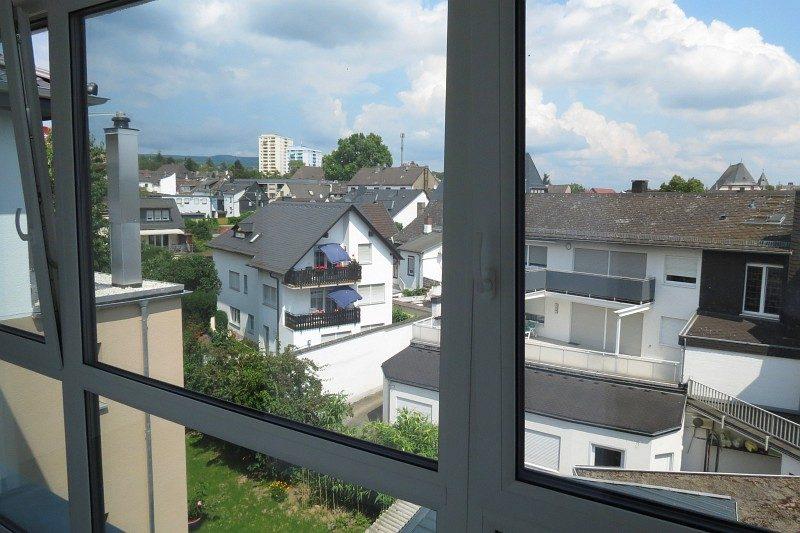 Winkeler Strasse Aussicht aus Fenster nach Umbau