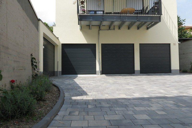 Winkeler Strasse Garagen nach Umbau