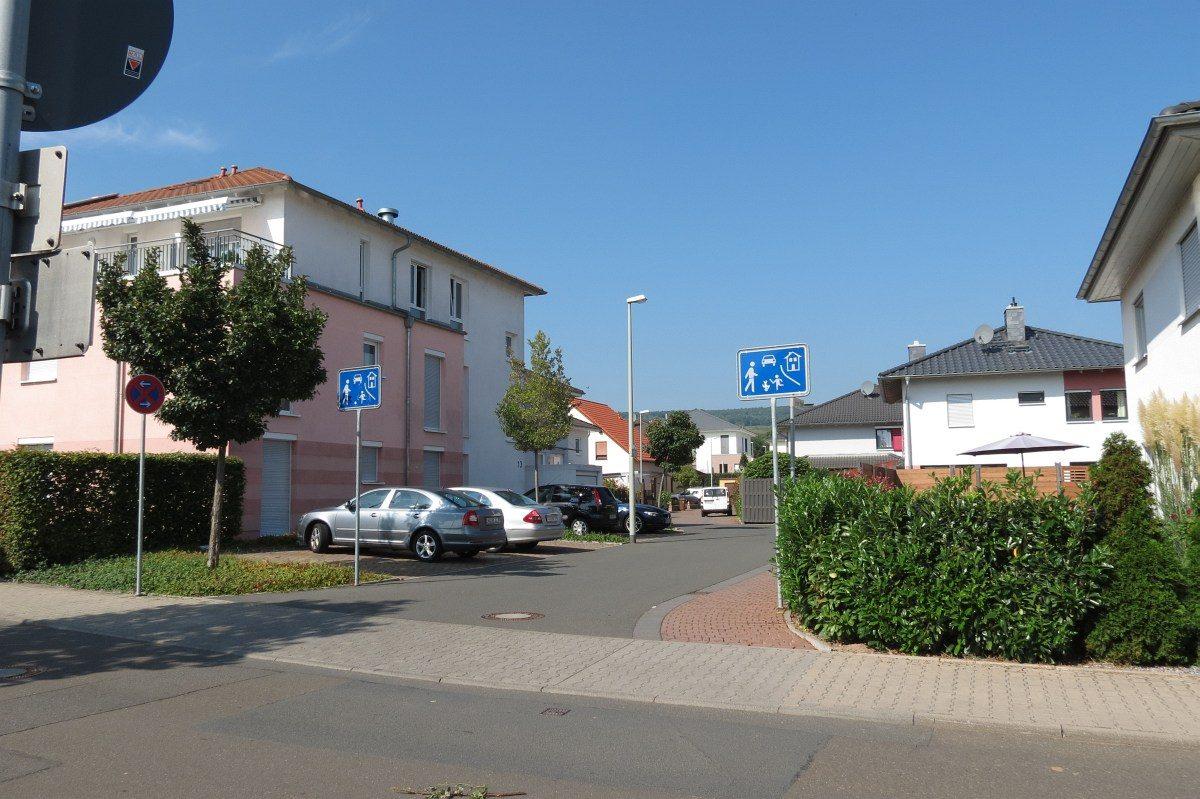 GAGFAH Häuser Strassenansicht Spielstrasse