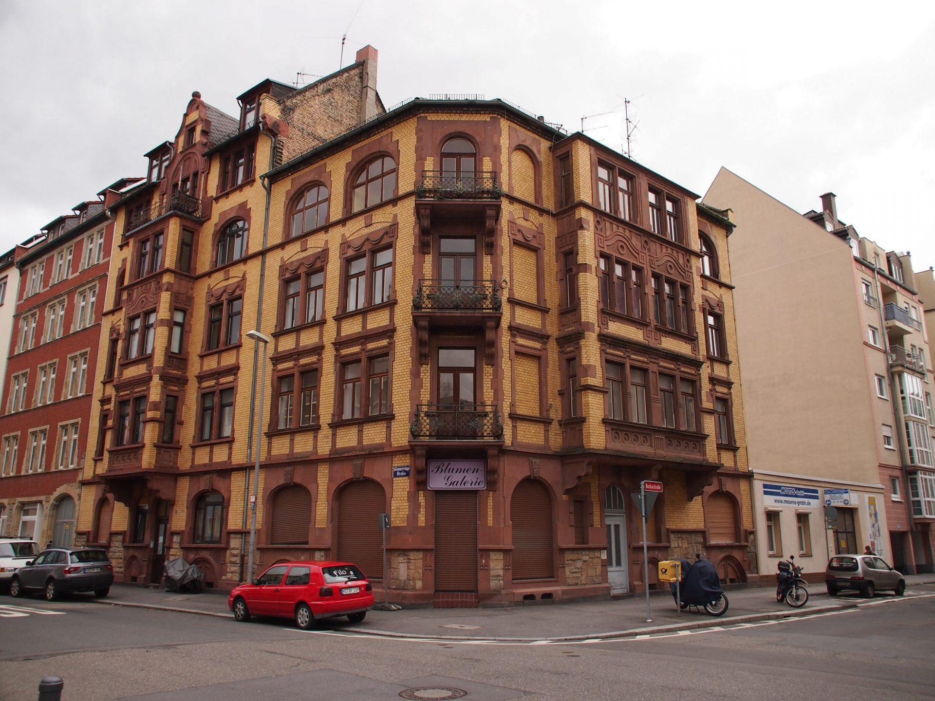 Neckarstrasse 1 Frontansicht vor Sanierung