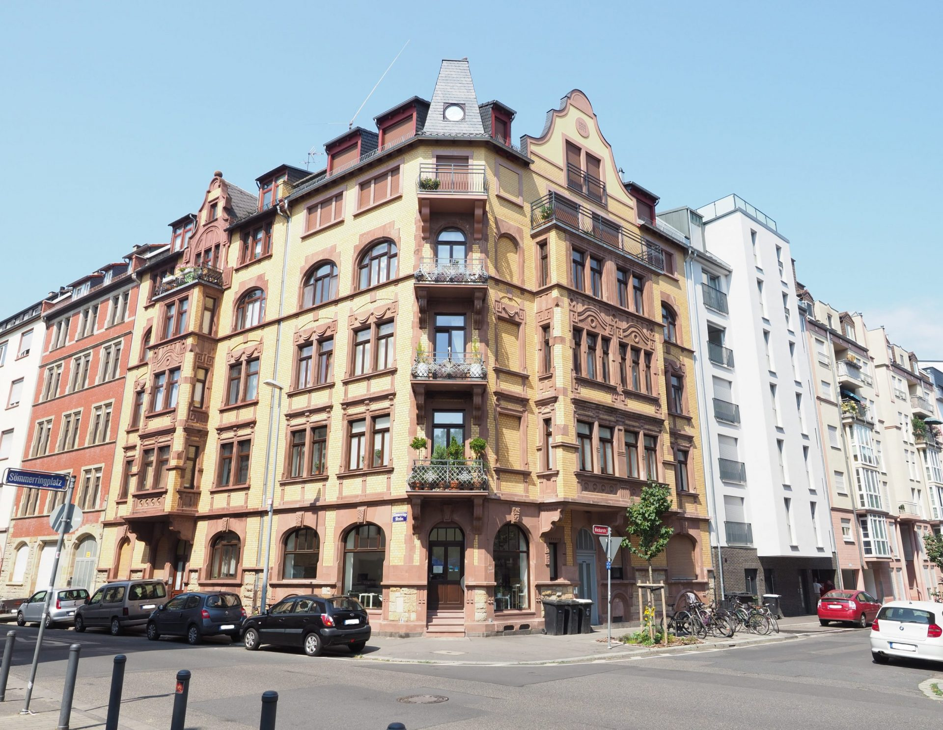 Neckarstrasse 1 Frontansicht