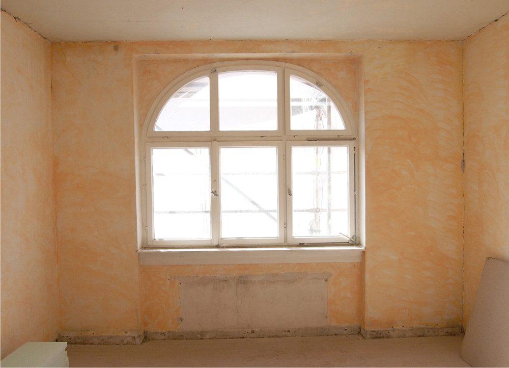Neckarstrasse Zimmer mit Fenster vor Umbau