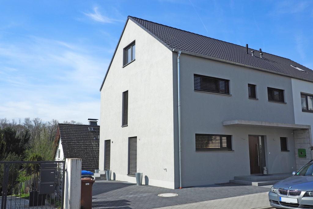 Großes Architektenhaus – praktisch neu !, 65396 Walluf, Doppelhaushälfte