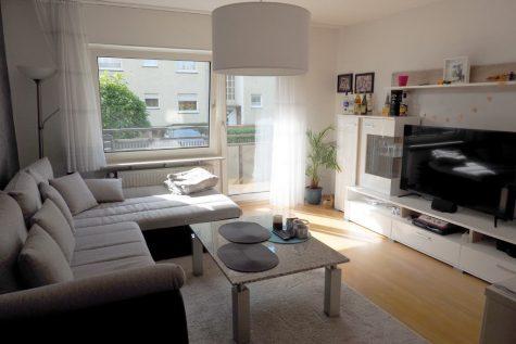 3 Zimmer Paterre-Wohnung mit sonnigem Balkon, 65474 Bischofsheim, Wohnung