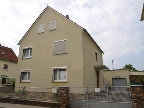 (Verkauft!) Angenehme Wohnlage in Hattenheim: Freistehendes Haus mit kl. Garten, 65347 Eltville am Rhein, Einfamilienhaus